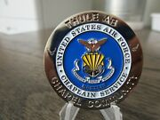 Usaf Chaplain Community Norad Thule Greenland Challenge Coin 815j
