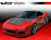 Vis Racing Carbon Fiber Hood Oe Style For Acura Nsx 2dr 91-01