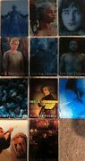 Game Of Thrones Season 8 For The Throne Complete Set Of 11 Metal Cards F1-11