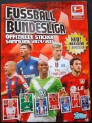 Bundesliga 2014-2015 Germany - 100 Complete Topps Album Stickers Trading Cards