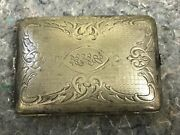 Antique German Silver Purse/compact-as Is