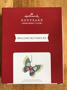 Hallmark 2021 Koc Event Exclusive Brilliant Butterfly Repaint -rare-sold Out
