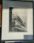 Louis Orr American 1876-1966 Small Crack In Glass See Pictures