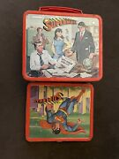 Superman Metal Lunch Box No Thermos