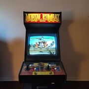 Vintage Mortal Kombat Arcade Game Full Size 90s Coin Operated