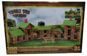 New In Package Tumble Tree Timbers Fine Wooden Log Playset 300 Pcs Hours Of Fun