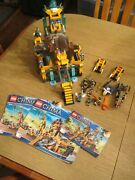 Lego Legends Of Chima The Lion Chi Temple 70010 - 100 Complete