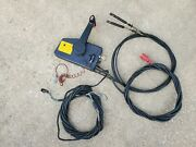 Johnson Evinrude Side Mount Remote Control Box With Power Trim And Tilt Red Plug
