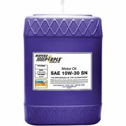 Royal Purple 5130 Engine Oil For Motor 10w30 And Synthetic - 5 Gal