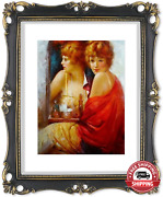 11x14 Picture Frame Antique Frame 11x14 Vintage Photo Frames 8x10 With Mat In Bl
