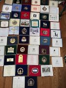 Lot Of 27 White House Christmas Ornaments 1982-2010