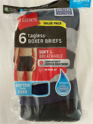3 Packages Hanes Menand039s Tagless Comfortsoft Waistband Boxer Briefs