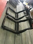 1958 - 1960 Corvette Seats Pair With Frames And Adjusters Used Original 1959