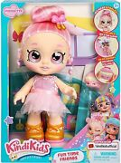 Kindi Kids Fun Time Friends - Pre-school Play Doll, Pirouetta - For Ages 3+