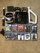 Star Wars Ps4 + Psvr Bundle 10 Games 500gb 2 Controllers Good Condition