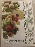 Beachbody P90x Extreme Home Fitness Nutrition Plan Guide Book