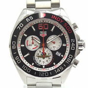 Tag Heuer Menand039s Watches Formula Chronograph Indy 500 Caz101v.ba0842 Black Dial