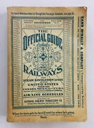1967 Vintage Official Guide Of The Railways Steam Airline Schedules Timetables