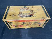 Vintage Cass Toys Wood Pirate Ship Treasure Chest Toy Box Bench And Bin