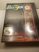Puzz 3d Puzzle Grandfather Clock 777pcs 3' Tall Wrebbit Challenging New And Sealed