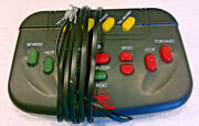 G Scale Model Train New Bright Holiday Express Controller Double Wire 380 Sets