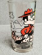 Vintage Pepsi Collector Series Glass Dudley Do Right Pat Ward