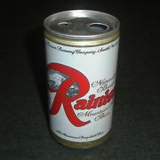 Rare Double Punch Ecology Top Rainier Beer Vintage Oregon Beer Can