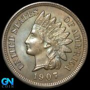 1907 Indian Head Cent Penny -- Make Us An Offer K8015
