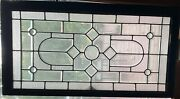 Nice Clear And Beveled Stained Glass Window