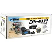 Can-am X3 Complete Utv Communication Kit With Dash Mount Over The Head Headsets