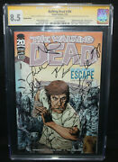 Walking Dead 100 - Signed By The Cast - Cgc Signature Series 8.5 - 2012