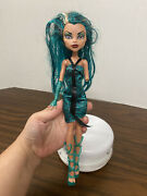 Monster High Boo York City Schemes Nefera De Nile Doll Incomplete As Is