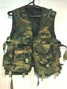Original Russian Army Tactical Vest Woodland Camo Spetsnaz Army Issue 1999