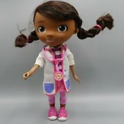 Disney Doc Mcstuffins Doll Talking Doctor White Coat No Headband By Just Play