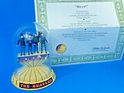 Beatles Andldquohelpandrdquofranklin Mint Glass Domed Music Box 1996 Works Great Check It Out
