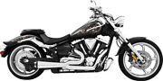 Freedom Exhaust 2 Into 1 Chrome For M109r Ms00010