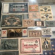 Germany 15 Vintage/antique Notes Nice