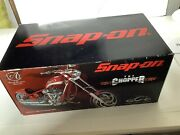 Snap On 1/10 Red Occ Chopper Diecast 2004 Racing Champions Authentics