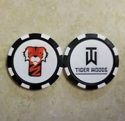 Nike Tiger Woods And Frank - Poker Chip Golf Ball Marker