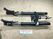 07-08 Yamaha Yzf R1 Oem Front Forks Suspension Straight W/ Triple Clamp