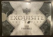 2012 Upper Deck Exquisite Collection Football Sealed Box Russell Wilson Rookie