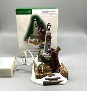 Dept 56 Animated Holiday Joy 58552 Dickens Village Working Spins Department