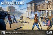 Dead Manand039s Hand Gunfighters Andbull 28mm Andbull New 10 Minis Andbull Stargrave Western Miniatures
