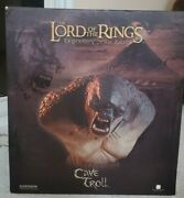Lotr Sideshow Legendary Scale Bust Cave Troll Lord Of The Rings 12/750