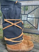 Womenand039s Steger Mukluks Moosehide Boots Tall Womenandrsquos 8 Liner Wide