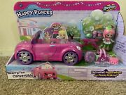Shopkins Happy Places - Bearry Fun Convertible With Pippa Melon New