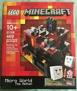 Lego Minecraft 21106 Micro World The Nether New Sealed