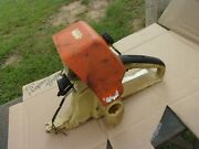 Stihl Ms460 Chainsaw Rear Handle Fuel Tank Carb Air Filter Cover Intake Parts