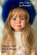 Reborn Toddler Doll June 3 Years Old By Bountiful