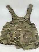 Improved Outer Tactical Vest Front Carrier Size Small Multicam Fq/pd 07-05 E